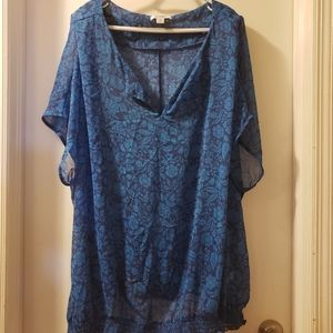 NWOT Old Navy Sheer Top